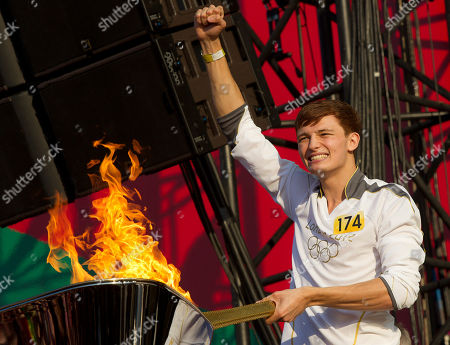 Editorial image of London Olympics Torch Relay Concert