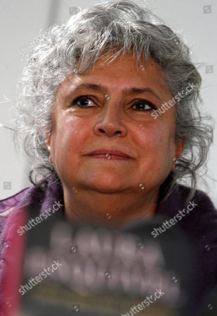 """Laura Esquivel Mexican author Laura Esquivel gives a news conference in Mexico City, . Esquivel, author of the novel """"Like Water for Chocolate,"""" announced that Grupo Santillana has acquired the rights to publish all her books"""