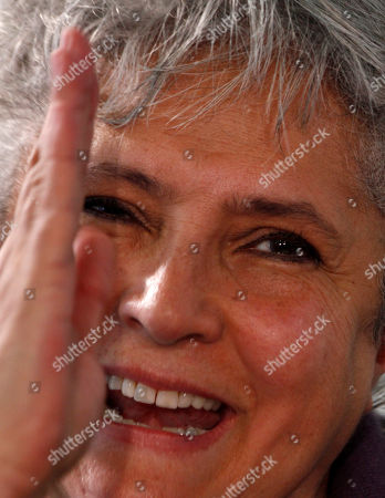 """Laura Esquivel Mexican author Laura Esquivel speaks during a news conference in Mexico City, . Esquivel, author of the novel """"Like Water for Chocolate,"""" announced that Grupo Santillana has acquired the rights to publish all her books"""