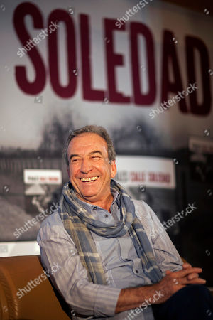 "Jose Luis Perales Spanish singer Jose Luis Perales smiles during an interview at a hotel in Mexico City, . Perales is in Mexico promoting his new album, ""Calle Soledad"