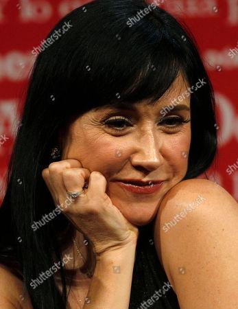 Susana Zabaleta Mexican actress Susana Zabaleta smiles during a press conference in Mexico City