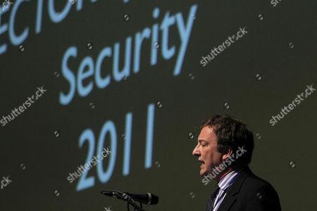 Misha Glenny British Author and cybercrime expert Misha Glenny speaks at the International Conference on Cyber Security at Tel Aviv University, Tel Aviv, Israel
