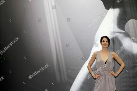 US actress Michelle Borth poses during a photocall at the 2012 Monte Carlo Television Festival, Wednesday, June 13th, 2012, in Monaco