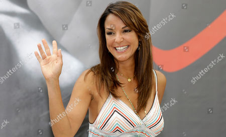 US actress Eva La Rue poses during a photocall at the 2012 Monte Carlo Television Festival, Wednesday, June 13th, 2012, in Monaco