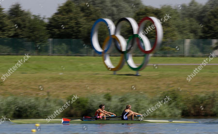 Editorial photo of Rowing London Olympics