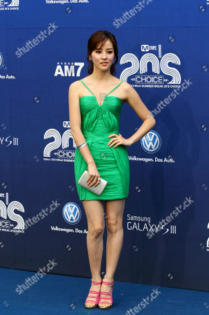 Han Hye-jin South Korean actress Han Hye-jin poses before the 2012 Mnet 20's Choice awards ceremony in Seoul, South Korea