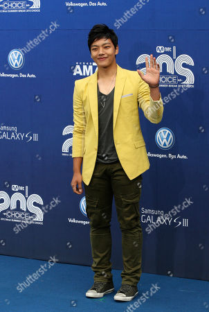 Yeo Jin-goo South Korean actor Yeo Jin-goo poses before the 2012 Mnet 20's Choice awards ceremony in Seoul, South Korea