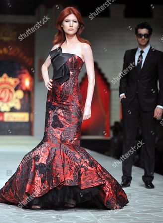 Anna Chapman Russian ex-spy Anna Chapman walks a Turkish catwalk at a fashion show in Antalya, Turkey. The 30-year-old Chapman was deported from the United States in 2010 along with nine other Russian sleeper agents