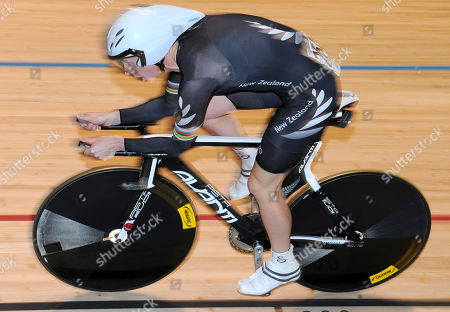 Alison Shanks New Zealand's Alison Shanks races in the qualifying for the women's individual pursuit at the Track Cycling World Championships in Melbourne, Australia