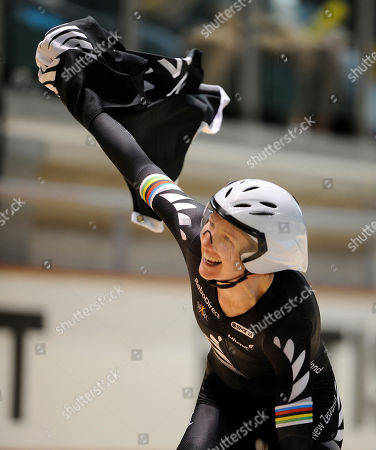 Alison Shanks New Zealand's Alison Shanks celebrates winning the women's individual pursuit at the Track Cycling World Championships in Melbourne, Australia