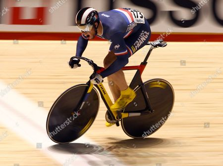 Kevin Sireau France's Kevin Sireau races to the third fastest time in qualifying for the men's sprint at the Track Cycling World Championships in Melbourne, Australia