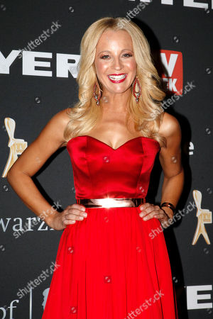 Carrie Bickmore Australian television personality Carrie Bickmore arrives for the Logies, an Australian television industry awards night, in Melbourne, Australia