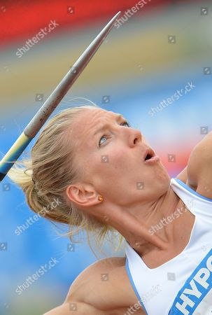 Lilli Schwarzkopf Germany's Lilli Schwarzkopf competes the javelin competition at the women's heptathlon at the Hypo Meeting in Goetzis, Austria