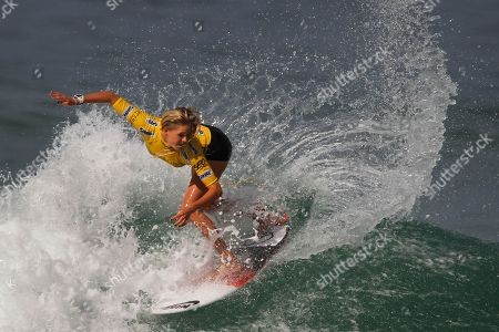 Laura Enever Australia's Laura Enever competes in round three of the Association of Surfing Professionals, ASP, Billabong Rio Pro women's surfing competition at Barra da Tijuca beach in Rio de Janeiro, Brazil