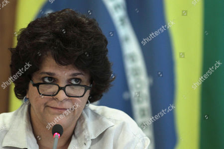 Izabella Teixeira Brazil's Environmental Minister Izabella Teixeira speaks during a press conference at the Planalto presidential palace in Brasilia, Brazil, . Teixeira announced that President Dilma Rousseff used her line-item veto powers on a congressional bill that weakened the nation's benchmark environmental law protecting the Amazon. Environmentalists wanted Rousseff to veto the entire bill