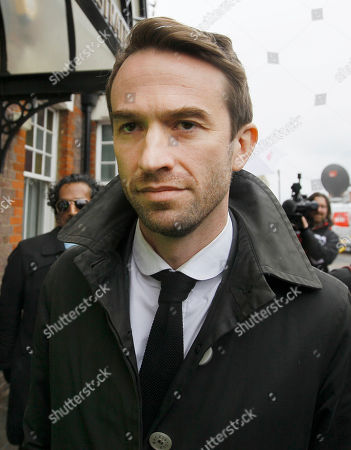 Trenton Oldfield leaves Feltham Magistrates Court in West London after a bail hearing . Oldfield was charged with public order offences after he disrupted the annual Oxford and Cambridge University boat race on the river Thames by swimming amongst the boats