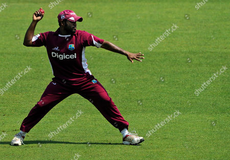 Adrian Barath West Indies' Adrian Barath throws a ball during a net practice session at the Trent Bridge cricket ground, Nottingham, England, . England will face West Indies in the 2nd Test match starting Friday