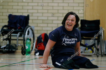 Stock Photo of Martine Wright Martine Wright, a former marketing manager, who lost both legs in the July 7, 2005 London subway bombings that killed 52 commuters, works out in a gym with the Great Britain sitting volleyball team, in London. Martine Wiltshire, then known as Martine Wright, was named on to the country's sitting volleyball team for the Paralympics