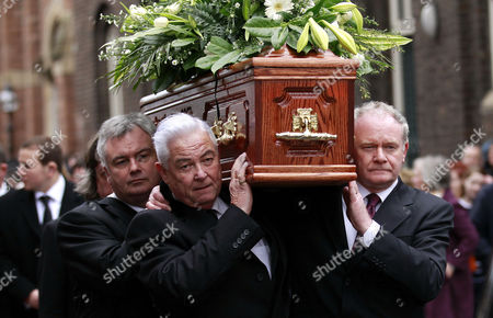 Editorial image of Britain Northern Ireland Frank Carson Funeral