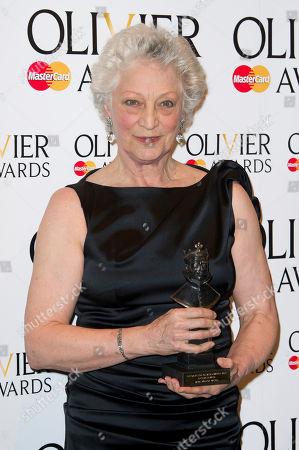 Monica Mason Monica Mason attends the Olivier Awards at the Royal Opera House, London