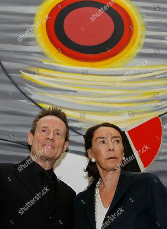 Mica Ertegun, John Paul Jones Mica Ertegun, widow of Ahmet Ertegun, stands with musician John Paul Jones of Led Zepplin at a press conference in London, . Oxford University says the widow of Atlantic Records founder Ahmet Ertegun has donated more than 26 million pounds ($41 million) to fund humanities scholarships for graduate students. There will be 15 scholarships a year and will eventually be endowed in perpetuity to award at least 35 graduate humanities scholarships annually