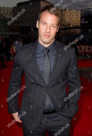 Falk Hentschel German actor Falk Hentschel arrives at World Premiere of Streetdance 2 at the O2 arena in London