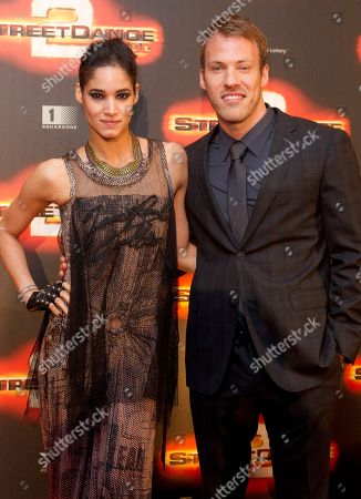Sofia Boutella, Falk Hentschel French actress Sofia Boutella and German actor Falk Hentschel arrive at World Premiere of Streetdance 2 at the O2 arena in London