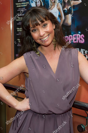 Lucinda Rhodes Flaherty Lucinda Rhodes Flaherty arrives for the World Premiere of 'Strippers Vs Werewolves', at a central London cinema