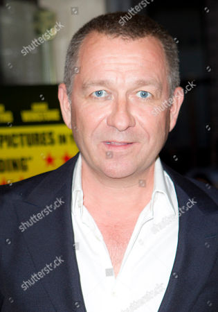 Sean Pertwee British actor Sean Pertwee arrives at the UK Premiere of Wild Bill at a central London cinema