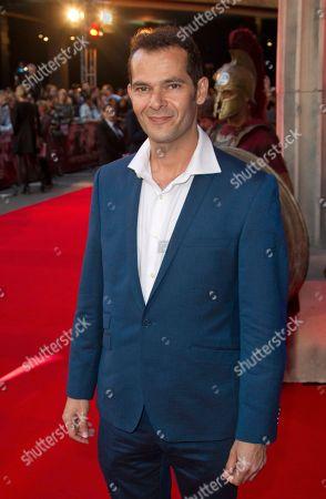 Alejandro Naranjo Actor Alejandro Naranjo arrives at the 'Wrath of the Titans' UK premiere at the BFI Southbank in London