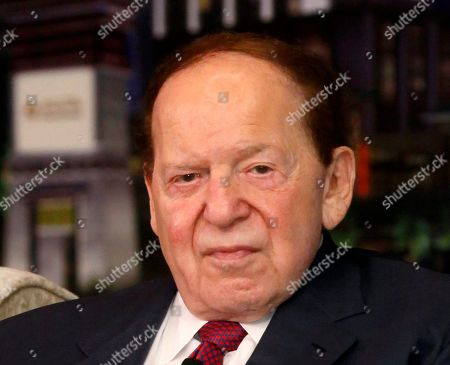 """Sheldon Adelson Las Vegas Sands Chairman and CEO Sheldon Adelson speaks at a news conference for the Sands Cotai Central in Macau. New campaign finance figures for the final two weeks of the 2012 campaign show that Las Vegas casino magnate Sheldon Adelson and his wife gave $10 million to a """"super"""" political committee supporting losing GOP presidential candidate Mitt Romney. Adelson, who owns casinos in Las Vegas, Singapore and the Chinese territory of Macau, has been the top donor in the 2012 race, providing more than $54 million supporting Romney and other GOP presidential candidates and an additional $18 million for other Republicans. The new $10 million figure for Adelson and his wife, Miriam, is for the pro-Romney Restore Our Future super PAC, but their totals could grow as final campaign finance tallies are reported Thursday, Dec. 7"""