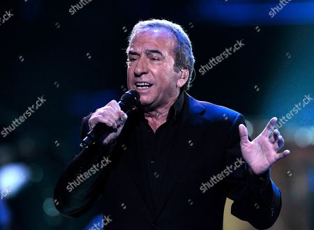 Spanish singer Jose Luis Perales performs during a concert at the 53rd annual Vina del Mar International Song Festival in Vina del Mar, Chile