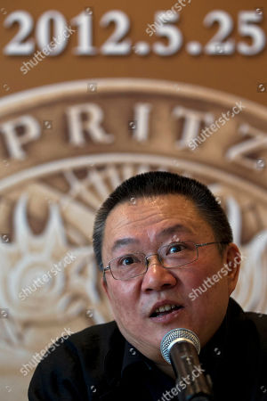 Wang Shu 2012 Pritzker Architecture Prize winner Wang Shu speaks at a press conference in Beijing, China, . When Wang accepts his field's richest prize in a ceremony Friday at the seat of China's legislature, a symbolic second winner will be waiting in the background - Hyatt Hotels
