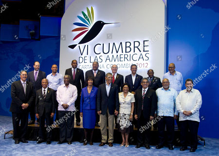 Editorial photo of Colombia Americas Summit Obama, Cartagena, Colombia