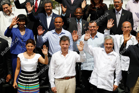 Editorial picture of Colombia Americas Summit, Cartagena, Colombia