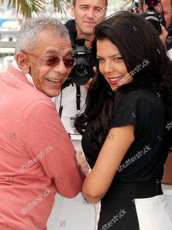 Yousry Nasrallah, Nahed El Sebai Director Yousry Nasrallah, left, and Nahed El Sebai pose during a photo call for After the Battle at the 65th international film festival, in Cannes, southern France