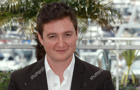 Stock Image of Juan Andres Arango Director Juan Andres Arango poses during a photo call for La Playa DC at the 65th international film festival, in Cannes, southern France