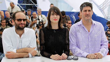 Carlos Reygadas, Nathalia Acevedo, Adolfo Jimenez Castro From left, director Carlos Reygadas, actors Nathalia Acevedo and Adolfo Jimenez Castro pose during a photo call for Post Tenebras Lux at the 65th international film festival, in Cannes, southern France