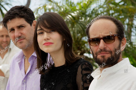 Adolfo Jimenez Castro, Nathalia Acevedo, Carlos Reygadas From left, actors Adolfo Jimenez Castro, Nathalia Acevedo and director Carlos Reygadas pose during a photo call for Post Tenebras Lux at the 65th international film festival, in Cannes, southern France