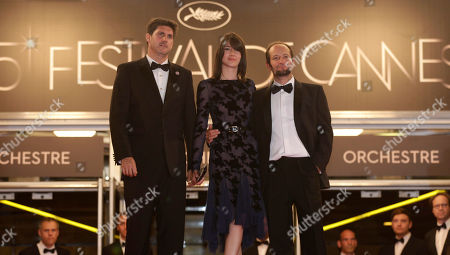 Nathalia Acevedo, Carlos Reygadas, Adolfo Jimenez Castro From right, director Carlos Reygadas and actors Nathalia Acevedo and Adolfo Jimenez Castro arrive for the screening of Post Tenebras Lux at the 65th international film festival, in Cannes, southern France