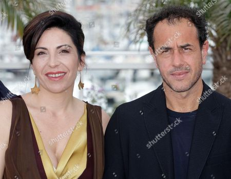Loredana Simioli, Nando Paone Actors Loredana Simioli, left, and Nando Paone pose during a photo call for Reality at the 65th international film festival, in Cannes, southern France