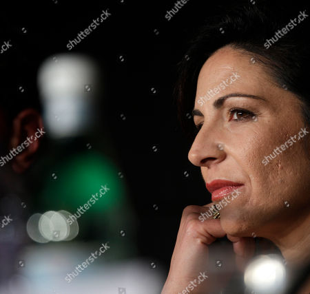 Loredana Simioli Actress Loredana Simioli listens during a press conference for Reality at the 65th international film festival, in Cannes, southern France