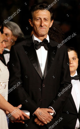Nano Paone Actor Nando Paone arrives for the screening of Reality at the 65th international film festival, in Cannes, southern France