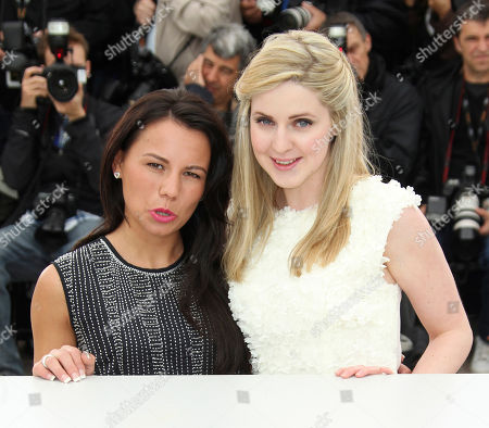 Jasmin Riggins, Siobhan Reilly Actresses Jasmin Riggins, left, and Siobhan Reilly pose during a photo call for The Angel's Share at the 65th international film festival, in Cannes, southern France