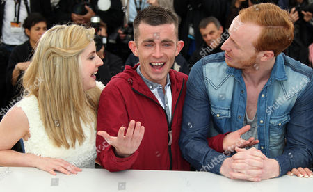 Siobhan Reilly, Paul Brannigan, William Ruane Actors Siobhan Reilly, left, Paul Brannigan and William Ruane pose during a photo call for The Angel's Share at the 65th international film festival, in Cannes, southern France