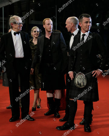 Ken Loach, Siobhan Reilly, William Ruane, Gary Maitland, Paul Brannigan From left director Ken Loach, actors Siobhan Reilly, William Ruane, Gary Maitland and Paul Brannigan arrive for the screening of The Angel's Share at the 65th international film festival, in Cannes, southern France