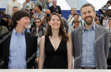 Ken Burns, Sarah Burns, David McMahon From left, co-directors Ken Burns, Sarah Burns and David McMahon pose during a photo call for The Central Park Five at the 65th international film festival, in Cannes, southern France