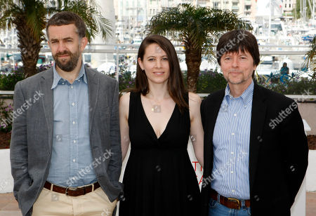 David McMahon, Sarah Burns, Ken Burns From left, co-directors David McMahon, Sarah Burns and Ken Burns pose during a photo call for The Central Park Five at the 65th international film festival, in Cannes, southern France
