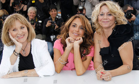 Susse Wold, Alexandra Rapaport, Anne-Louise Hassing From left actresses Susse Wold, Alexandra Rapaport and Anne-Louise Hassing pose during a photo call for The Hunt at the 65th international film festival, in Cannes, southern France