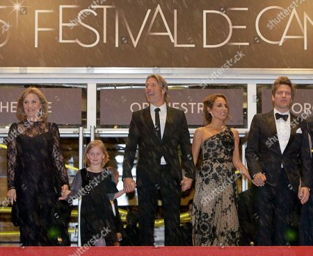 Susse Wold, Mads Mikkelsen, Annika Wedderkopp, Thomas Vinterberg, Alexandra Rapaport From left, actors Susse Wold, Annika Wedderkopp, Mads Mikkelsen, Alexandra Rapaport and director Thomas Vinterberg arrive for the screening of The Hunt at the 65th international film festival, in Cannes, southern France